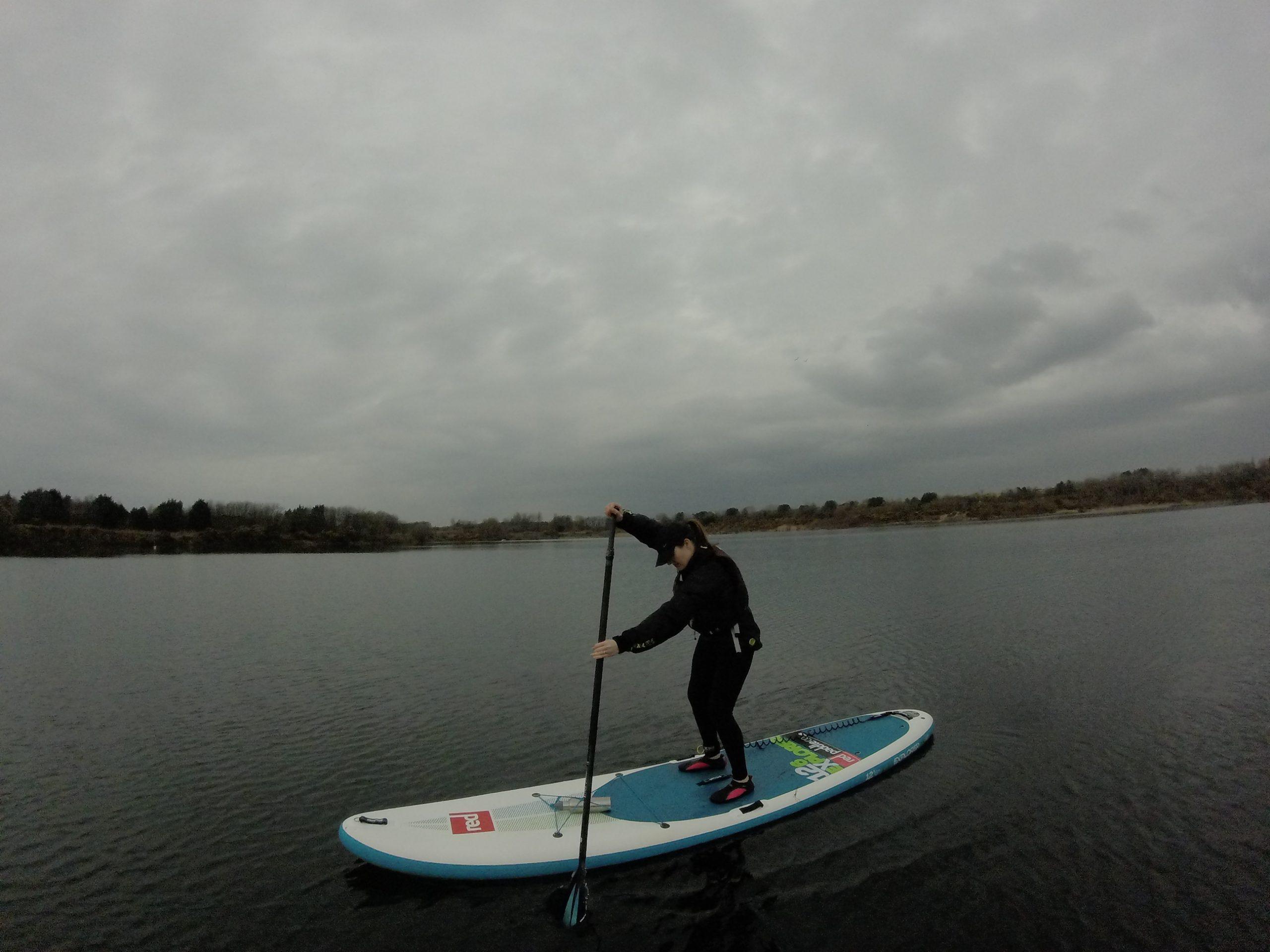 Paddle boarding coaching