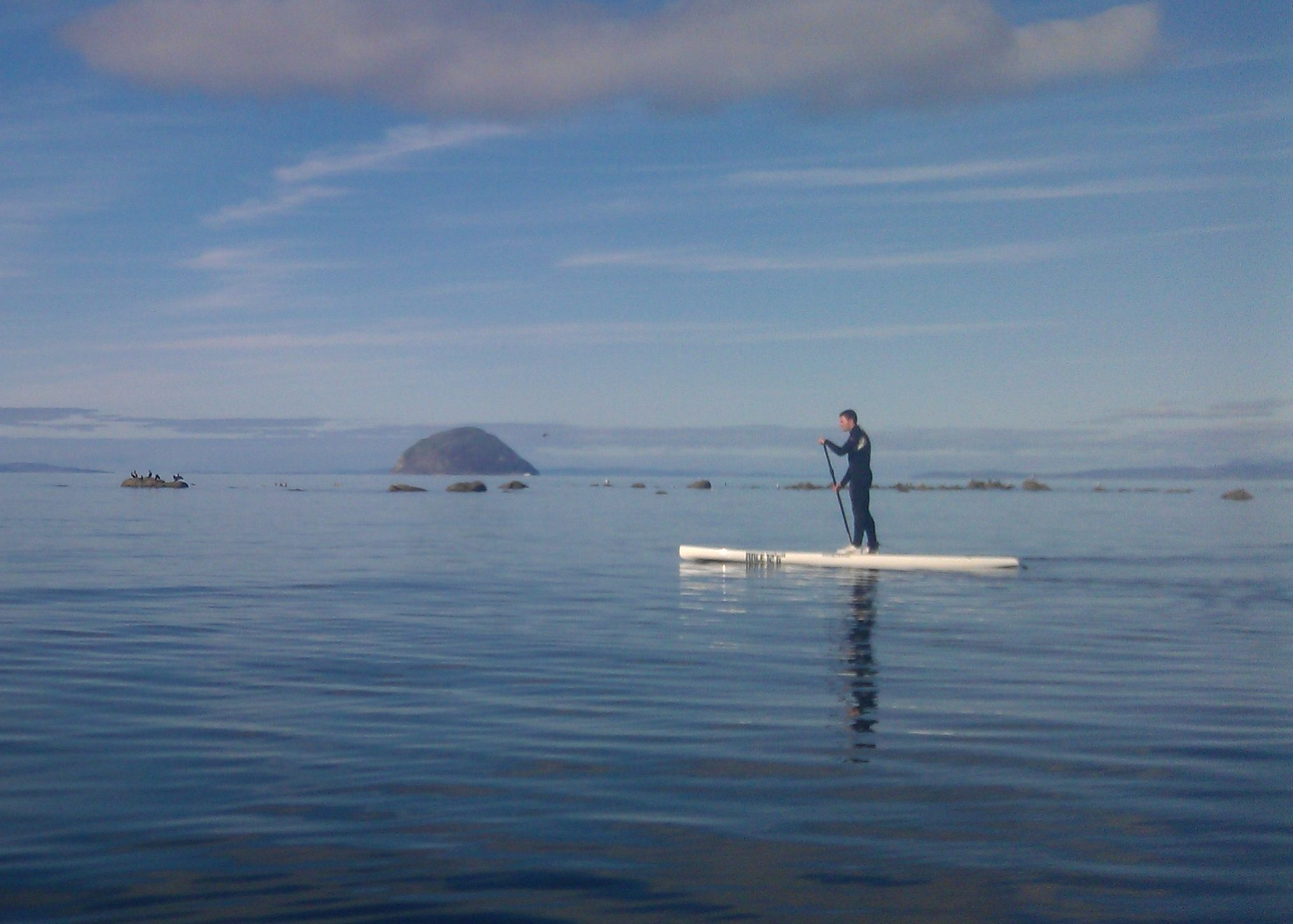 Stand Up Paddle boarding explorer