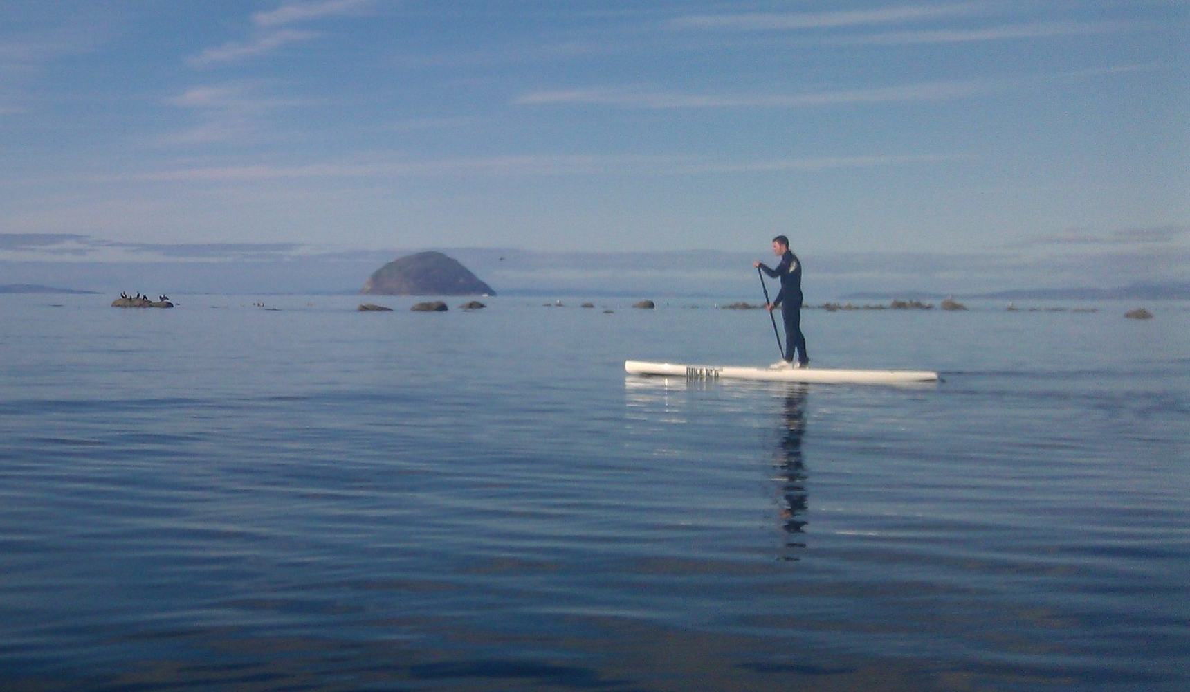 paddleboarding girvan
