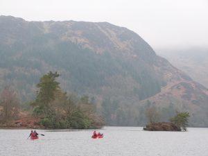 Canoeing Loch trool