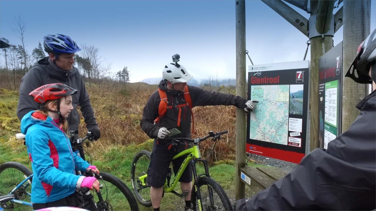 Mountain Biking 7 stanes
