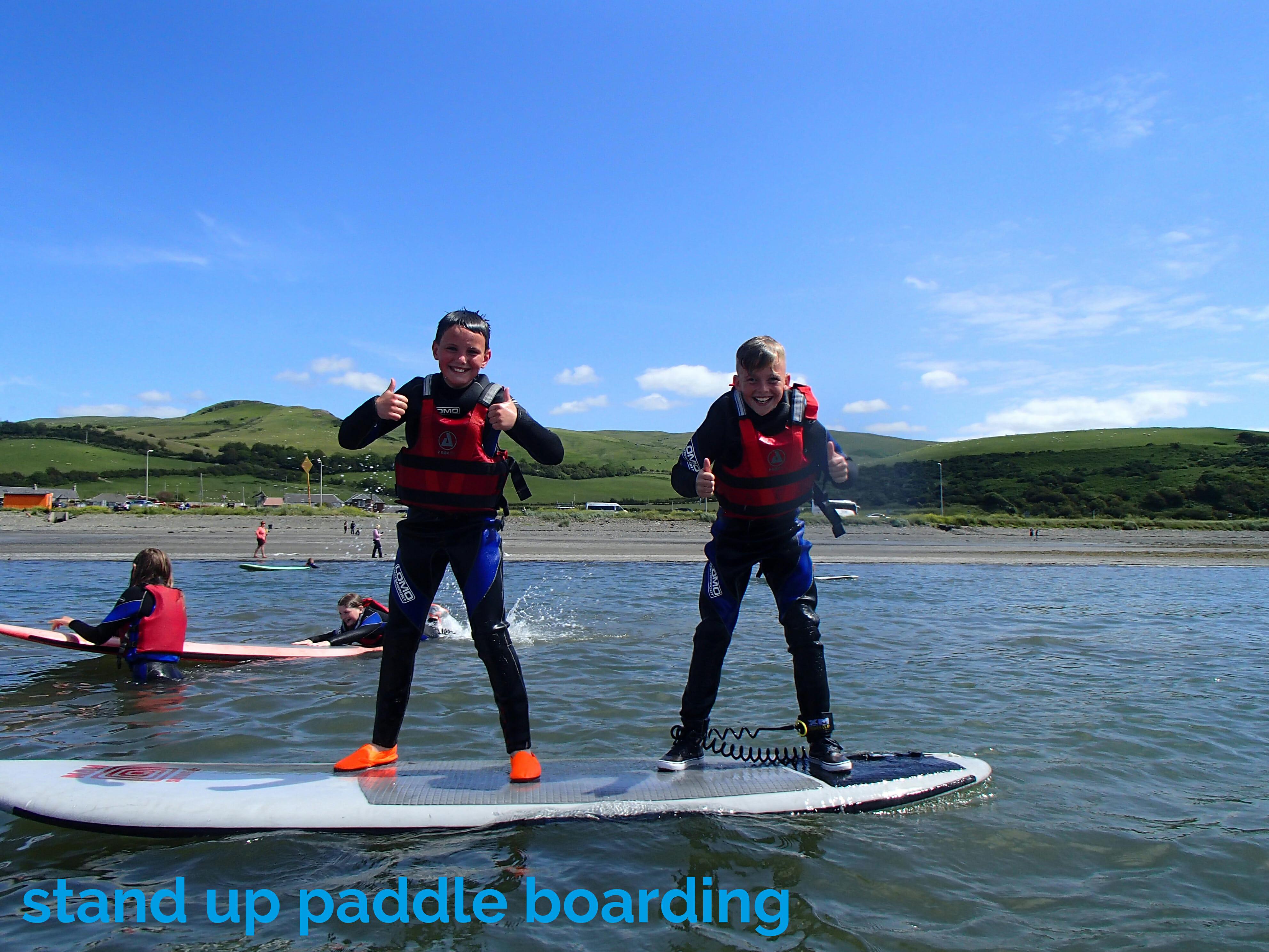 paddle boarding kids